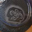 自作の茸皿☆