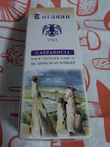トルコのカッパドキア土産のワイン。