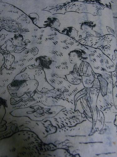 金龍寺山松茸狩図